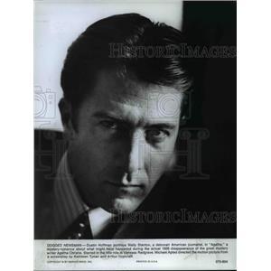 1979 Press Photo Dustin Hoffman stars as Wally Stanton in Agatha - orp16461