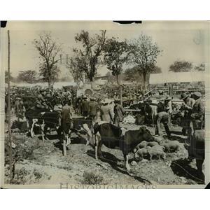 1927 Press Photo Easter Fair in Seville - nex53376