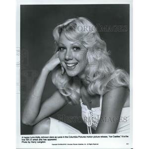 1979 Press Photo Lynn Holly Johnson Ice Castles - orp17356