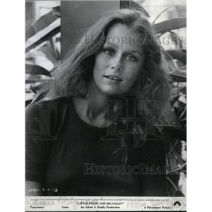 1971 Press Photo Lauren Hutton stars in Little Fauss and Big Halsy - orp17297