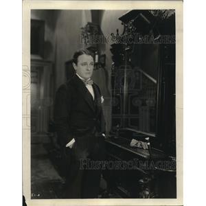 1922 Press Photo Basil Sydney English actor