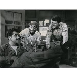 1960 Press Photo Ernie Kovacs Robert Strauss Dick Shawn Wake Me When It's Over