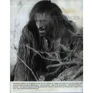 1971 Press Photo Richard Harris stars in The Man in the Wilderness - orp16560