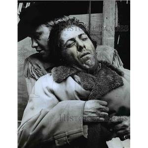1969 Press Photo Dustin Hoffman and Jon Voight star in Midnight Cowboy