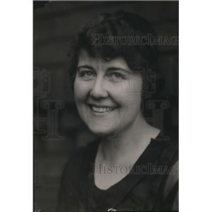 1919 Press Photo Matie M Merrill teacher at Bowling Jr HS