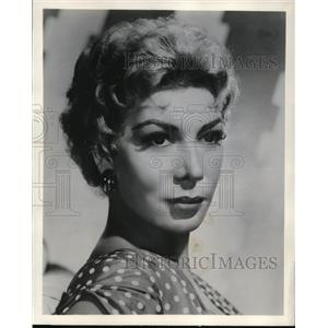 1961 Press Photo Dolores Gray stars on United States Steel Hour TV Program
