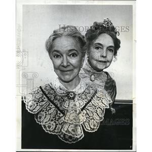 1969 Press Photo Helen Hayes Arsenic & Lace - orp17535