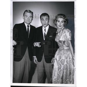 1960 Press Photo Spike Jones Bill Dena and Helen Grayco in The Spike Jones Show