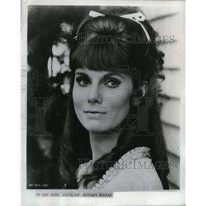 1968 Press Photo Bridget Hanley