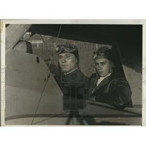 1930 Press Photo of Edward W. Wingerter 25 and Joseph S. Jones Jr.18
