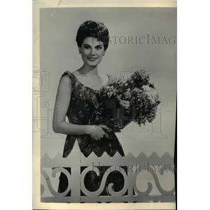 1958 Press Photo Doretta Morrow In Voice Of Firestone