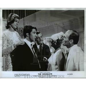 1968 Press Photo Dustin Hoffman in the Graduate - orp15276