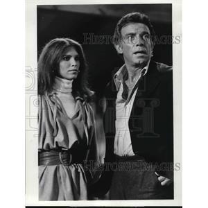 1975 Press Photo Ann Turkel, Tony Franciosa in Matt Helm - orp14777