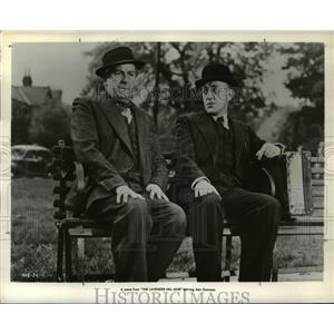 1961 Press Photo Stanley Holloway and Alec Guinnes in Lavender Hill Mob