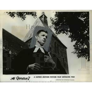 1961 Press Photo Michael Gwynn stars in Question 7 - orp15513