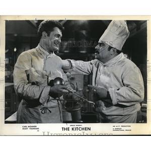 1962 Press Photo Carl Mohner stars in The Kitchen