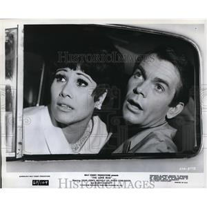 "1969 Press Photo Dean Jones and Michelle Lee in ""The Love Bug"" - orp19157"