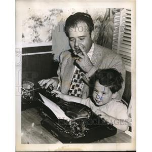 1948 Press Photo Zeke Manners - orp21304