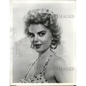"""1959 Press Photo Barbara Lang """"Lawman, The Gang"""" - orp19518"""