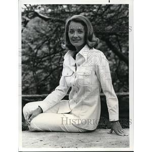 1974 Press Photo Diana Muldar - orp21096