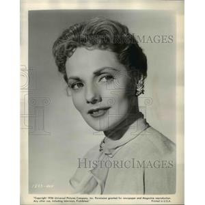 1956 Press Photo Mary Ellen Kaye in Francis in the Haunted House