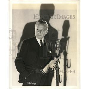 1936 Press Photo Fred Niblo Director on Professional Parade NBC Radio show