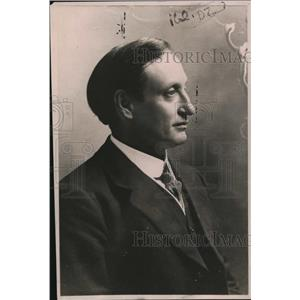 1919 Press Photo Ben Willett, Secretary British Deckers Labor Union