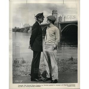 1955 Press Photo George Nader Bridges To Cross