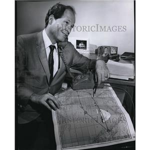 1967 Press Photo Bruce Kelly