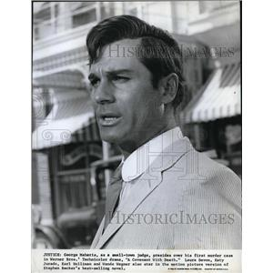 1967 Press Photo George Maharis in The Demon Under the Bed