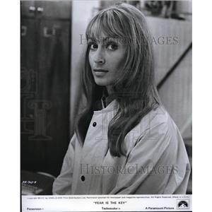 1972 Press Photo Suzy Kendall in Fear is the Key - orp21138