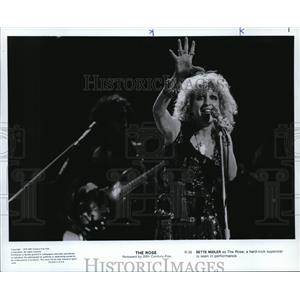 1979 Press Photo Bette Midler in The Rose - orp20876