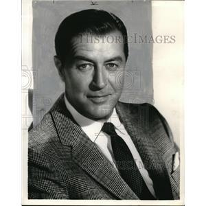 "1960 Press Photo Ray Milland ""Markham"" - orp20387"