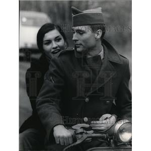 1969 Press Photo John Phillip Law and Ludmilla Mikael in The Sergeant - orp20069