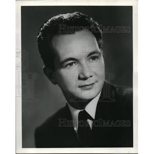 1958 Press Photo Mark Newman
