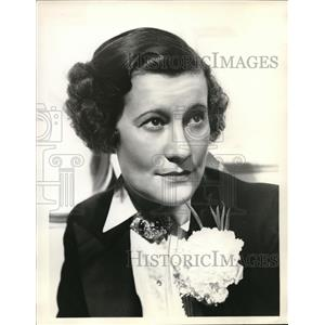 1935 Press Photo Odette Myrtil French Musical Comedy Star - orp20701