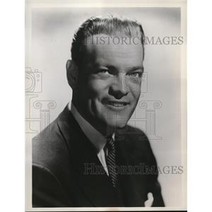 """1953 Press Photo Jack Gregson in """"Jack's Place"""" - orp19262"""