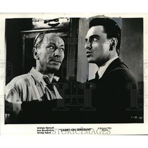"1960 Press Photo Bob Monkhouse ""Carry On Sergeant"""