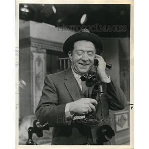 1962 Press Photo Frank McHugh in Action New Orleans