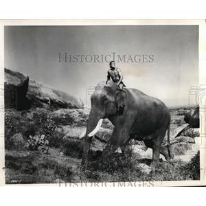 1962 Press Photo Jock Mahone stars in the title role in Tarzan Goes to India