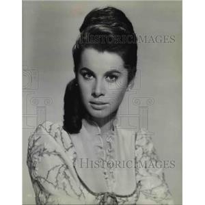 1963 Press Photo Stefanie Powers stars in McLintock
