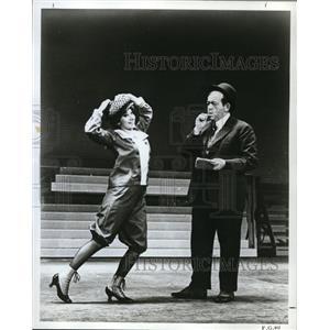 1966 Press Photo Marilyn Michaels and Sam Kressen in Funny Girl