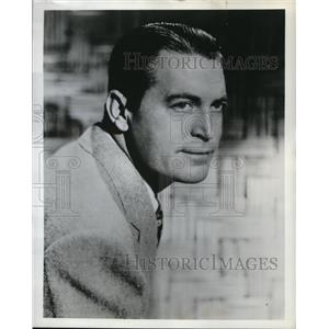 """1959 Press Photo Chester Morris """"United States Steel Hour"""""""