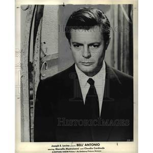 1963 Press Photo Marcello Mastroianni stars in Bell Antonio