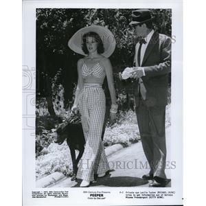 1975 Press Photo Michael Caine and Kitty Winn in Peeper