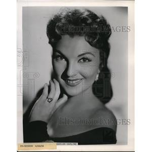 1955 Press Photo Marion Marlorve