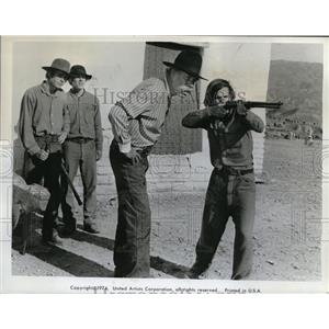 1974 Press Photo Lee Marvin The Cowboys