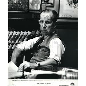 1974 Press Photo Hume Cronyon in The Parallax View