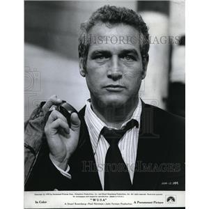 """1970 Press Photo Paul Newman """"W U S A"""""""