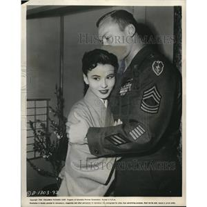 1955 Press Photo Mitsuko Kimura in Three Stripes in the Sun
